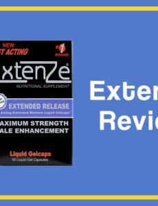 extenze pills review