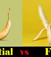 Partial Circumcision banana